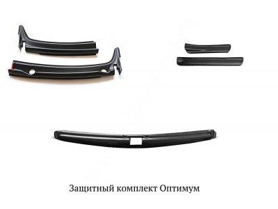 Комплект для защиты 'Оптимум' Renault Duster 2015-