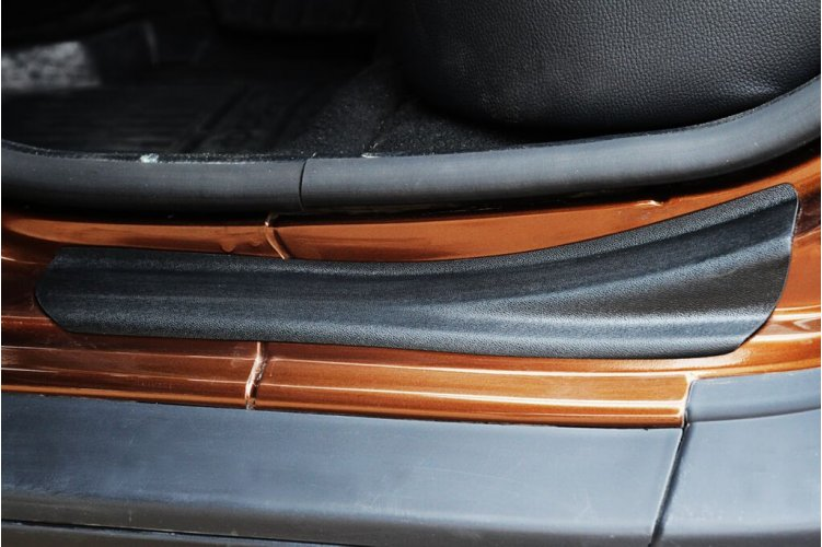 Комплект накладок задних порогов (2шт) №2 Renault Duster