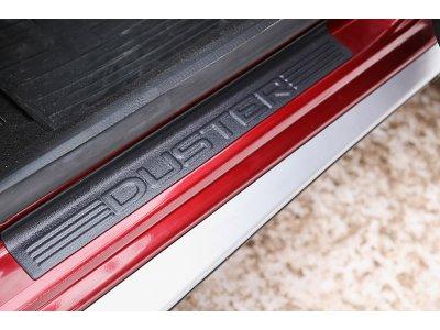 Комплект накладок на пороги №1 Renault Duster 2010-