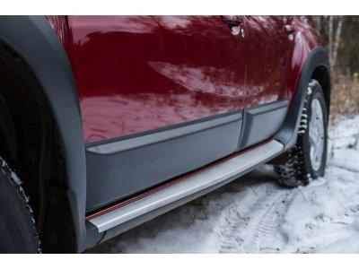 Молдинги (4 шт) для дверей Renault Duster 2010-