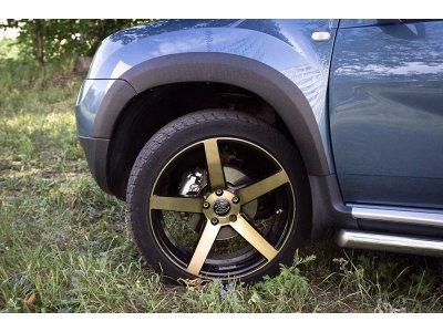 Накладки на арки для Renault Duster 2010-