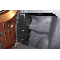Защита на боковые стойки багажника Renault Duster 2010-