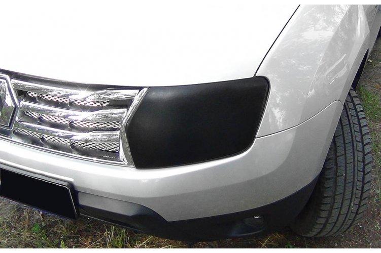 Реснички (накладки) для самостоятельного изготовления Renault Duster 2010-
