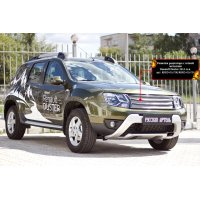 Решётка радиатора (черная сетка) на Renault Duster 2015-