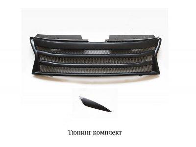 Тюнинг комплект (решетка+реснички) Renault Duster 2010-
