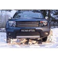 Зимняя заглушка (с обвесом, без дхо) Renault Duster 2011-