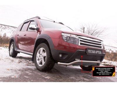Зимняя заглушка (дхо+обвес) Renault Duster 2011-