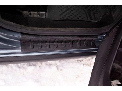 Комплект накладок на пороги Citroen Berlingo 2008-