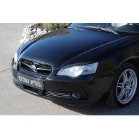 Реснички на переднюю оптику Subaru Legacy 2003-