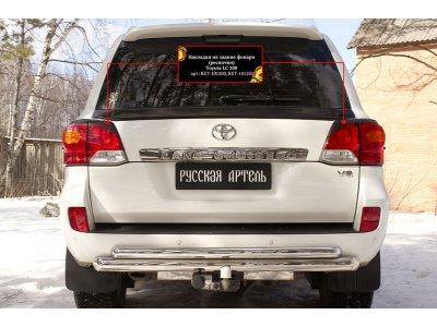 Накладки на задние фонари для Toyota LC 200