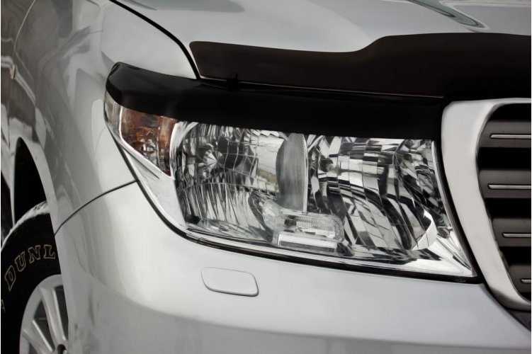 Реснички на фары с фото Toyota Land Cruiser 200