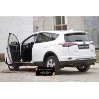 Накладки внутренних порогов дверей Toyota Rav4 2015-