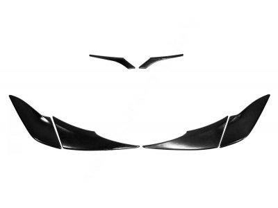 Тюнинг комплект (реснички на фары) Toyota Rav4 2015-