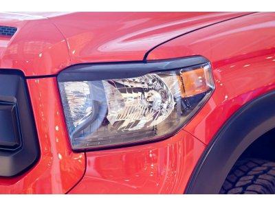 Накладки на передние фары Toyota Tundra 2013-