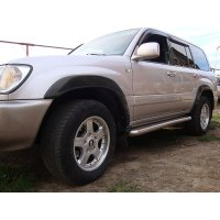 Расширители колесных арок Toyota Land Cruiser 100 1998-2007
