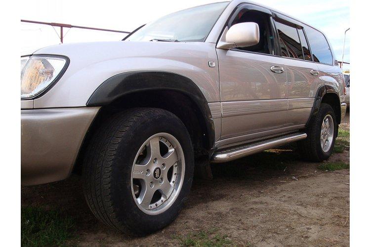 Расширители колесных арок Toyota Land Cruiser 100 1998-2007