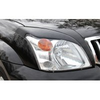 Реснички на фары (накладки) Toyota Land Cruiser Prado 120