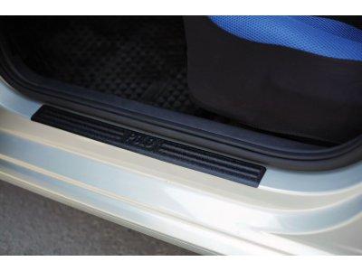 Комплект накладок для порогов (4шт.) Фольксваген Поло