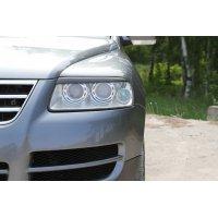 Реснички на фары (передние) Volkswagen Touareg 2003-