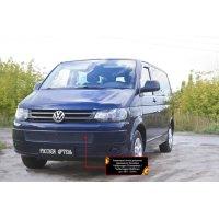 Пластиковая сетка в бампер Volkswagen Transporter (T5 рестаил) 2009-2015