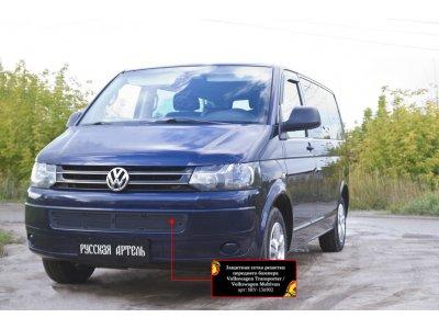 Пластиковая сетка в бампер Volkswagen Multivan (T5 рестаил) 2009-2015