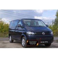 Зимняя заглушка на бампер Volkswagen Multivan (T5 рестаил) 2009-2015