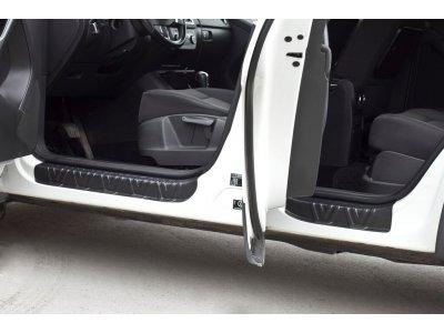 Накладки на пороги (4шт) Volkswagen Tiguan 2011-