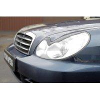 Реснички на передние фары Sonata IV 2002-2009
