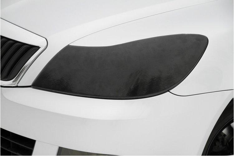 Накладки для изготовления передних ресничек Skoda Octavia 2008-