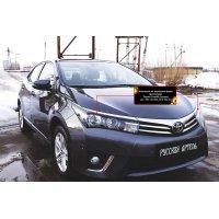 Накладки на фары для Toyota Corolla (седан) 2012-2015