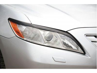 Реснички на фары (укороченные) Тойота Камри 2006-