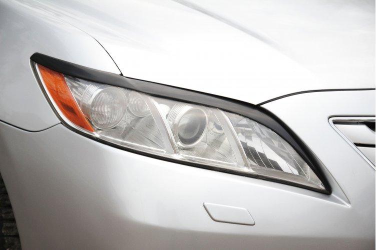 Реснички на фары Toyota Camry V40 2006-2009
