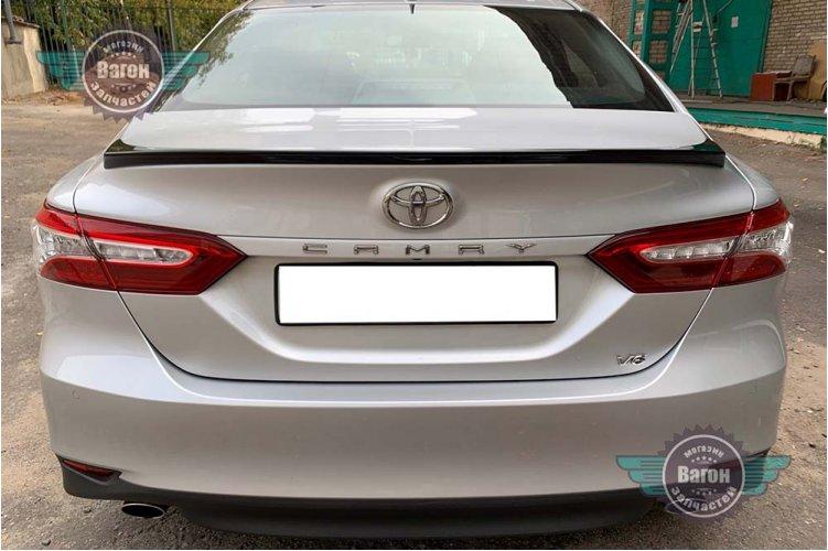 Спойлер на багажник Toyota Camry XV70 2017-