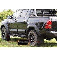 Брызговики (выступ 50 мм) Toyota Hilux 2015-