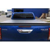 Жесткая крышка-тент на кузов пикапа Toyota Hilux (Vigo Double Cab, 1.52m Bed)