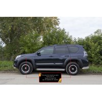 Расширители арок Toyota Land Cruiser Prado 150 2009-2013