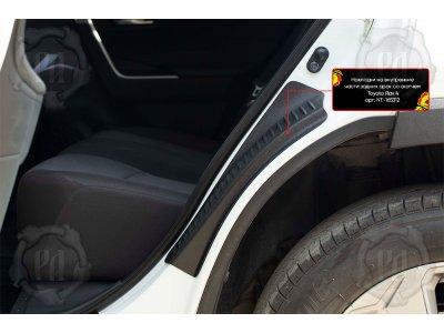 Накладки на задние арки Toyota Rav4 2019-