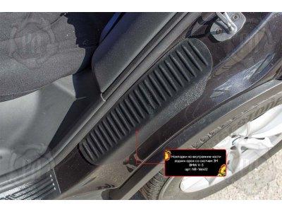 Накладки на задние арки BMW X3 2018-
