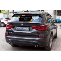 Накладки на задние фонари BMW X3 2018-