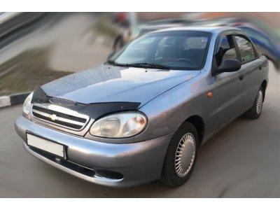 Дефлектор на капот Chevrolet Lanos 2005-