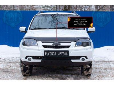 Спойлер дефлектор на капот №1 Chevrolet Niva Bertone 2009-2019