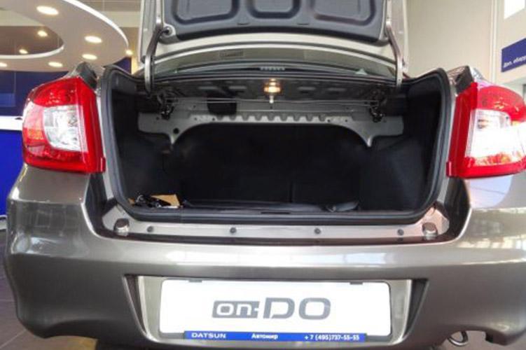 Упоры амортизаторы багажника Datsun on-DO 2014-