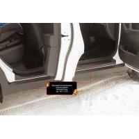 Накладки на внутренние пороги дверей Hyundai Creta 2016-