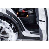 Накладки на задние арки №2 Hyundai Santa Fe III 2013-2015