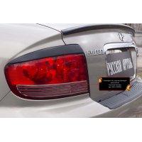 Реснички-накладки на задние фары Hyundai Sonata