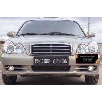 Зимняя заглушка переднего бампера Hyundai Sonata 2002-