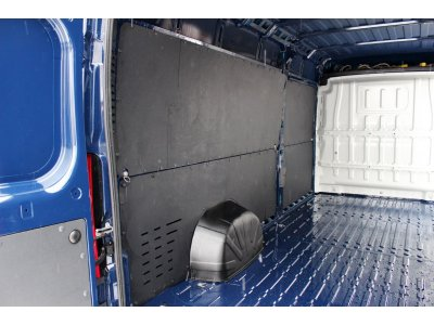 Обшивка грузового отсека (три яруса) Peugeot Boxer 2006-