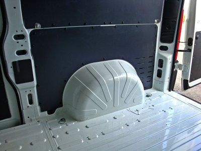 Обшивка грузового отсека на Ситроен Джампер 2014-