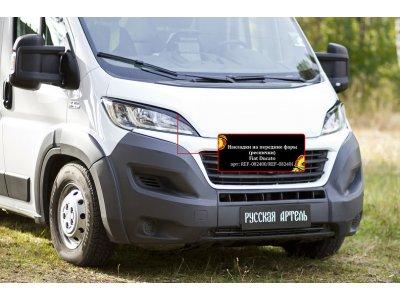 Реснички (накладки) на фары Peugeot Boxer 2014-
