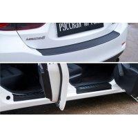 Защитный комплект (накладки на пороги и бампер) Mazda 6